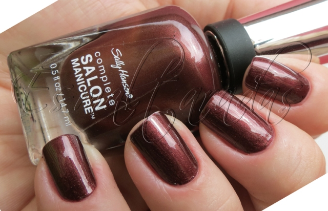 Haute Chocolate - Sally Hansen2