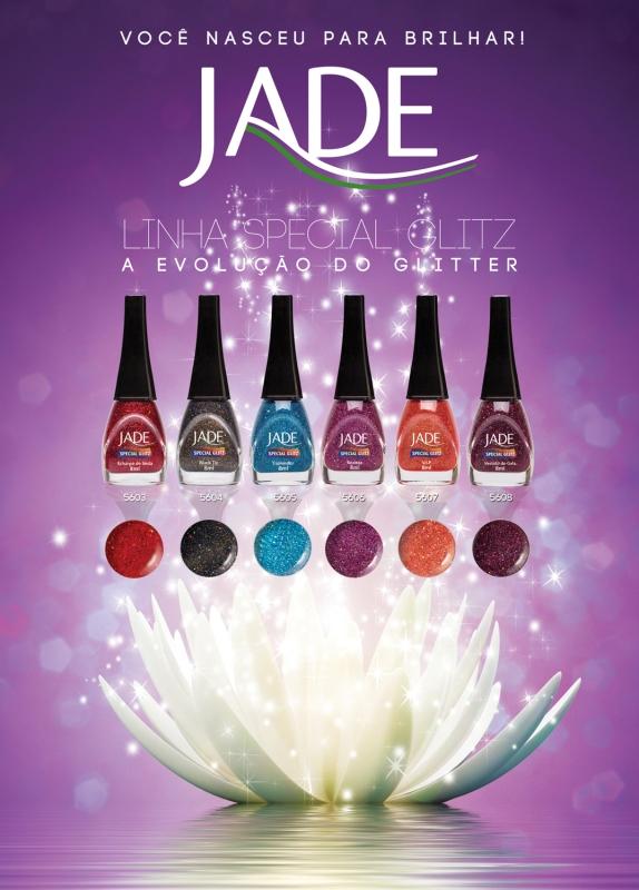 Esmalte JADE - Linha Special Glitz - Coleção Luxurious Colors