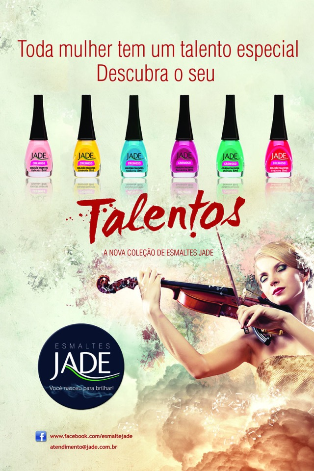 Esmalte JADE - Coleção Talentos