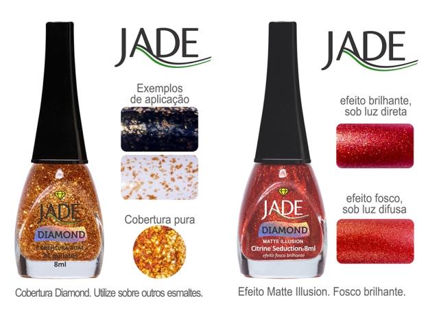 Esmalte JADE Diamond 5824 24 quilates RGB amostra de cor