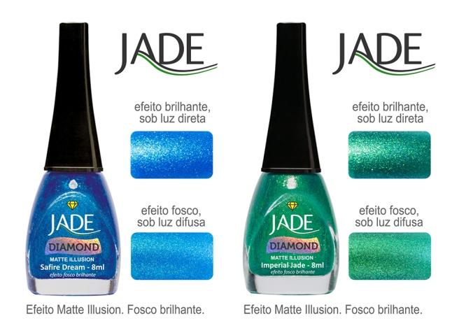 Esmalte JADE Diamond 5827 Safire Dream RGB amostra de cor