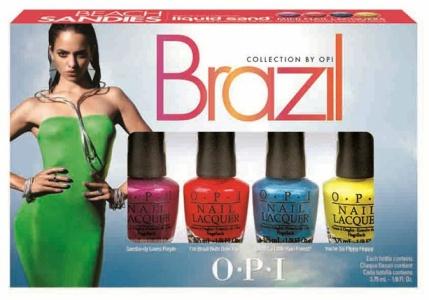 OPI Brazil minisands