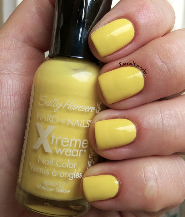 Mellow Yellow - Sally Hansen