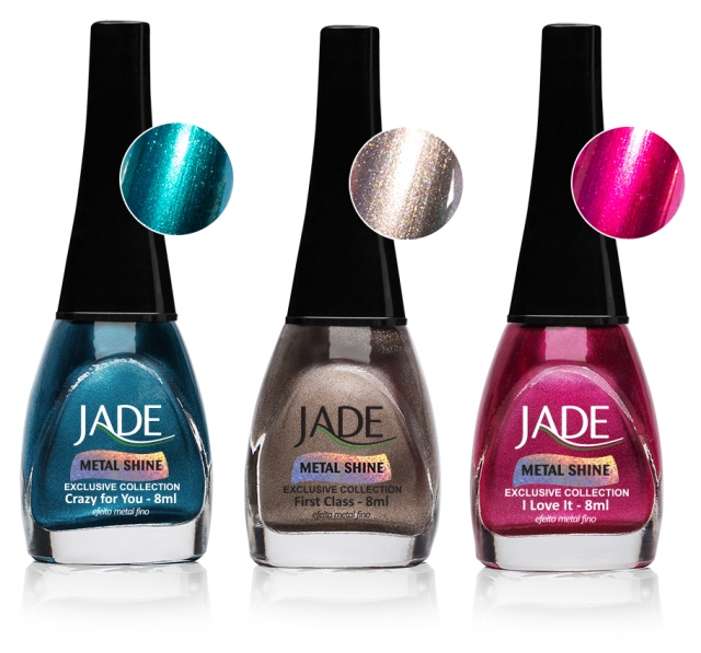 Esmalte JADE Exclusive Collection Metal Shine 6009 Crazy for You