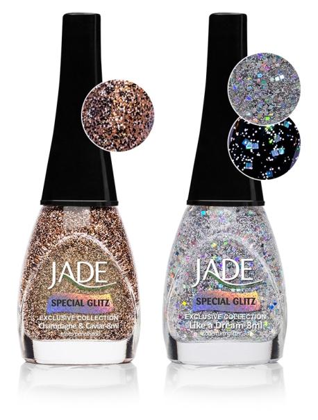 Esmalte JADE Exclusive Collection Special Glitz 5614 Champagne&Caviar