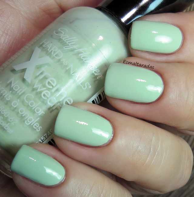 Mint Sorbet - Sally Hansen2