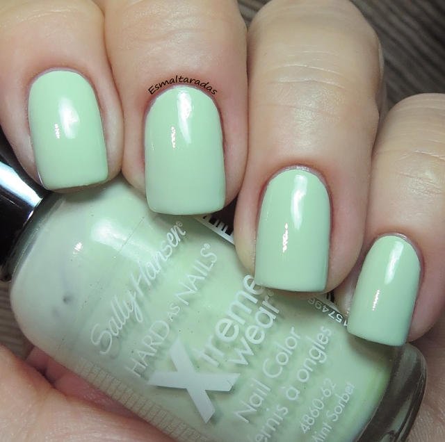 Mint Sorbet - Sally Hansen3
